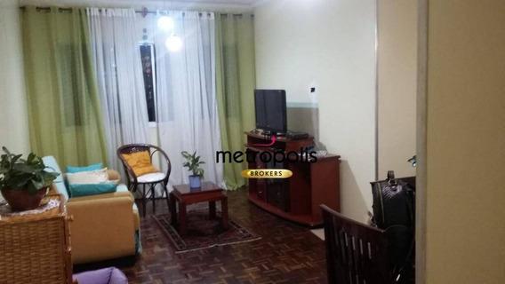 Apartamento À Venda, 92 M² Por R$ 435.000,00 - Santa Paula - São Caetano Do Sul/sp - Ap2161