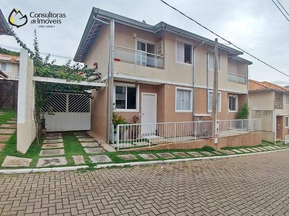 Casa Com 3 Dormitórios À Venda, 90 M² Por R$ 510.000,00 - Fazenda Santa Cândida - Campinas/sp - Ca1168