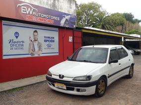 Peugeot 306 5 Puertas Blanco Precio 100% Financiado