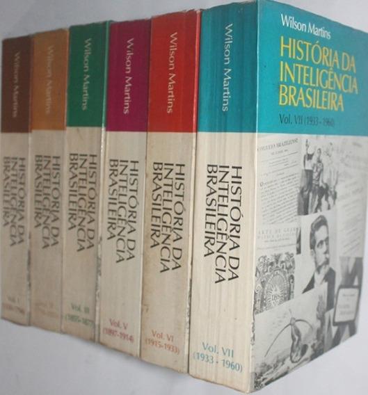Historia Da Inteligência Brasileira Vol.vii (1933-1960)