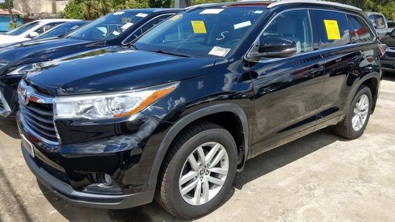 Toyota Highlander Awd Negra 2016