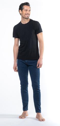 Jean Skinny Color Azul Hombre - Mizu