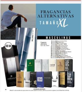 Perfumes Millanel 100 Ml. Fragancias Alternativas Masculinas