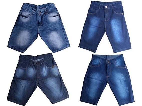 Kit 5 Bermudas Jeans Masculinas Atacado Preço De Fabrica