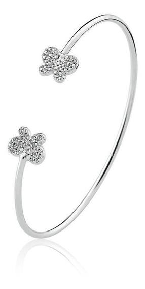 Bracelete Borboleta Com Zirconias -lindo!