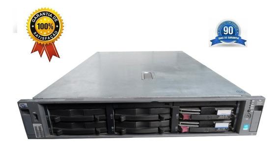 Hp Proliant Dl380 G4, Intel Xeon 3 Ghz 64 Bits, 8 Gb Ram, 2 Hds 146gb, 2 Portas De Rede Gigabit, Barato E Com Garantia
