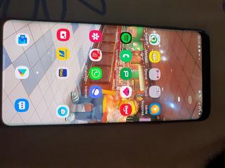 Celular Samsung Galaxy S9+ Plus 128gb Cinza Titânio + Caixa