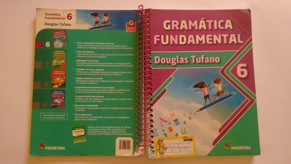 Livro Gramática Fundamental - 6° Ano - 2ª Ed. 2 Usado Barato