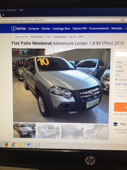 Palio Weekend Adventure Locker 1.8 8v Flex