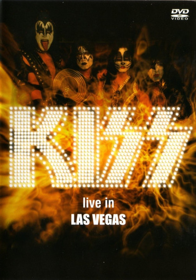 Kiss Live In Las Vegas - Dvd Original