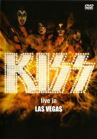 Kiss Live In Las Vegas - Dvd Original