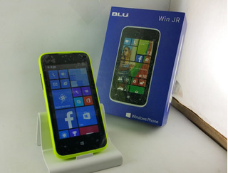 Celular Blu Win Jr Windows Phone Leia Anuncio