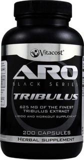 Tribulus Terrestris 625mg 200 Cápsulas Vitacost - Importado