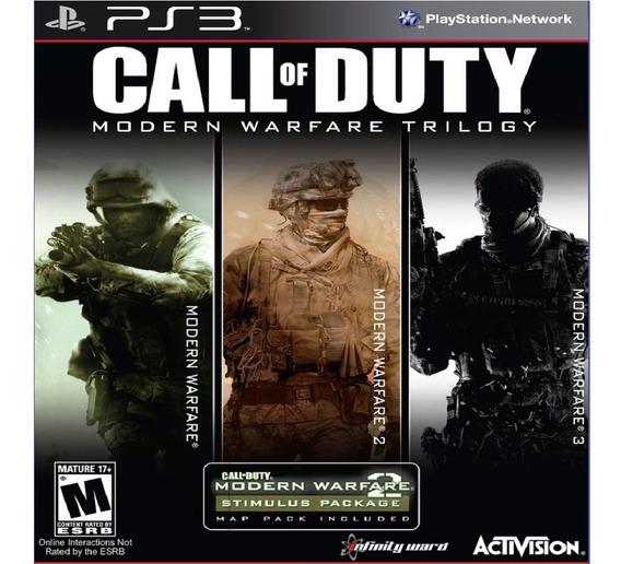 Call Of Duty Modern Warfare 1 2 3 Ps3 Psn Game Play 3 Promo