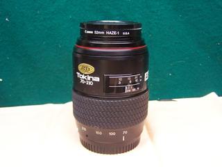 Tokina 70-210mm F4-5.6 A-mount, Minolta Y Sony Alpha