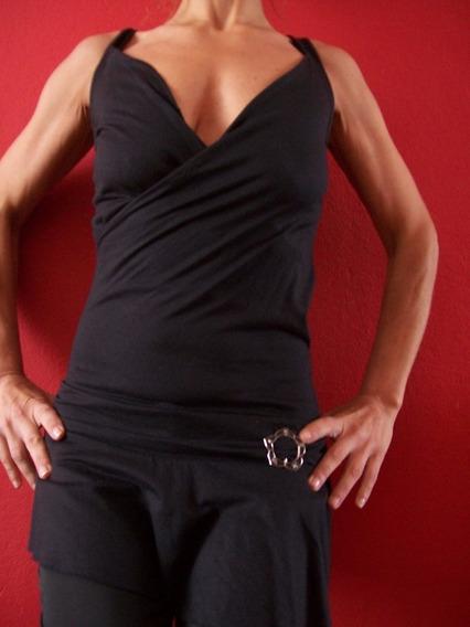 Remera Musculosa Vestir Informal Larga Modal Elastano Usada