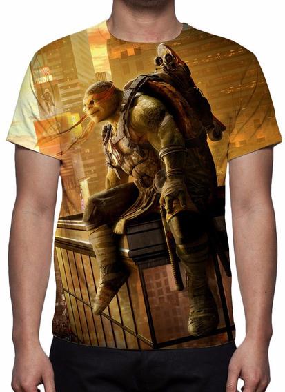 Camisa, Camiseta Tartarugas Ninja - Michelangelo Mod 02