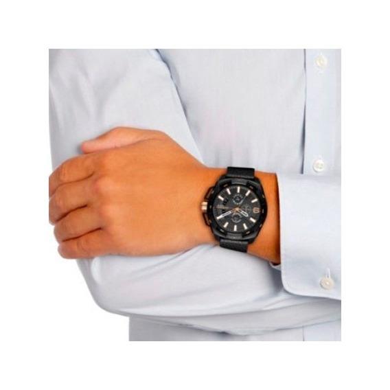 Relógio Diesel Masculino Preto Dz4419/0pi