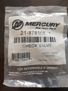 Valvula Mercury Optimax Efi 21-8781051