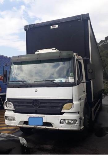 Imagem 1 de 14 de M. Benz Atego 2428 Truck Sider