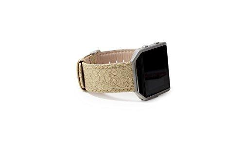 Fitbit Blaze Smart Fitness Watch Band Correa De Piel Genuina