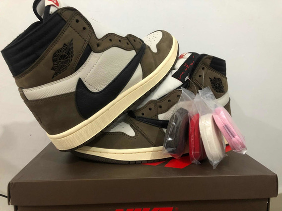 Tenis Air Jordan 1 Travis
