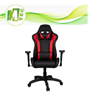 Mtec Cooler Master Caliber R1 Silla Gamer Roja Negro Reclina