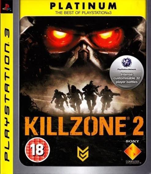 Jogo Killzone 2 Platinum Hits - Ps3 Mídia Física Lacrado