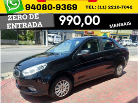 Fiat Grand Siena Attractive Flex 2017 2018 Zero De Entrada
