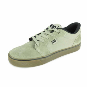Tênis Dc Shoes Anvil Bege Adys300200-2gg
