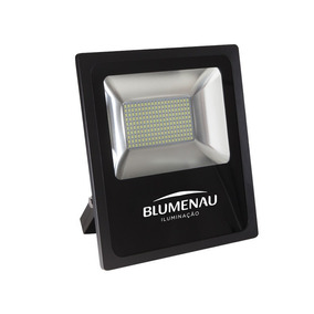 2 Refletor Led 50w Slim 6000k Luz Branca Ip65 Blumenau