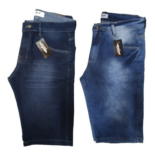 Kit C/6 Bermudas Jeans Masculina Promoção Especial