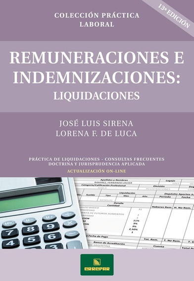 Remuneraciones E Indemnizaciones - Liquidaciones