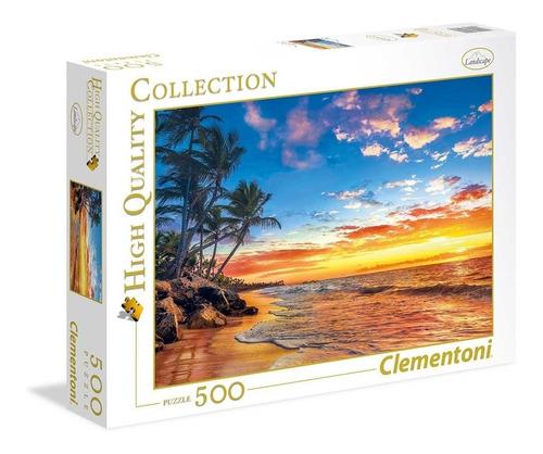 Rompecabeza Puzzle Playa Paradisiaca X 500 Clementoni Full