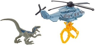 Jurassic World Matchbox Dino Transporters Raptor Copter