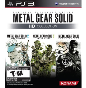Metal Gear Solid Hd Collection -ps3 Lacrado
