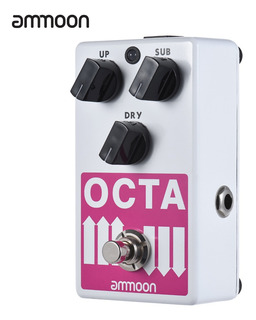 Ammoon Octa Guitarra Eléctrica Precisa Octave Polifónica