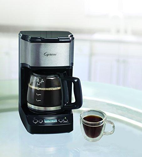 Capresso 42605 5cup Drip Mini Coffeemaker, Blacksilver