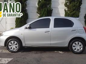 Toyota Etios X 1.3 Flex 5p 2016 Completo Único Dono