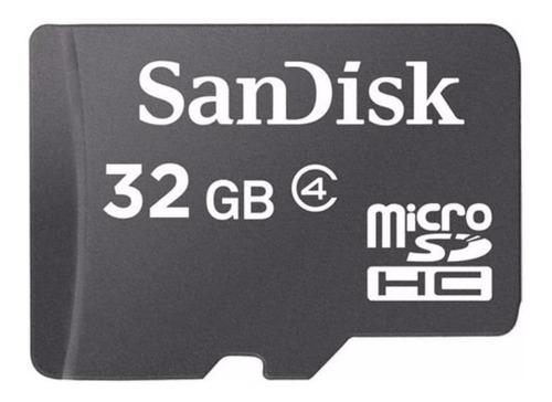 Cartão de memória SanDisk SDSDQM-032G-B35A com adaptador SD 32GB