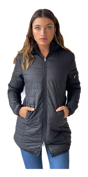 Campera Inflable Tipo Parka Con Capucha Wind- Kout Mujer