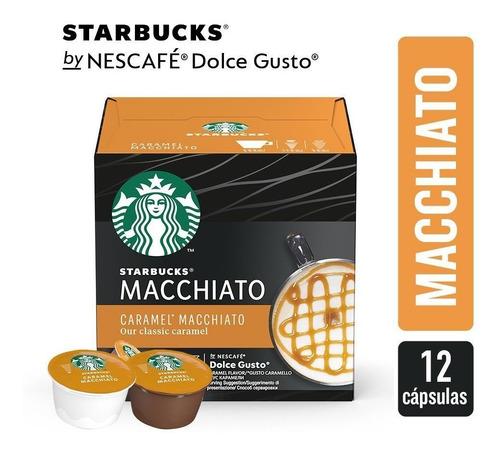 Starbucks Caramel Macchiato Cápsulas Dolce Gusto Oficial