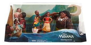 Set De 5 Figuras De Moana De Disney