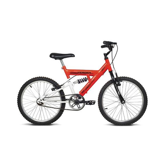 Bicicleta Infantil Aro 20 Eagle Laranja E Branco Verden Bike