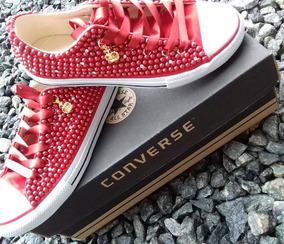 All Star Perolas Vermelho