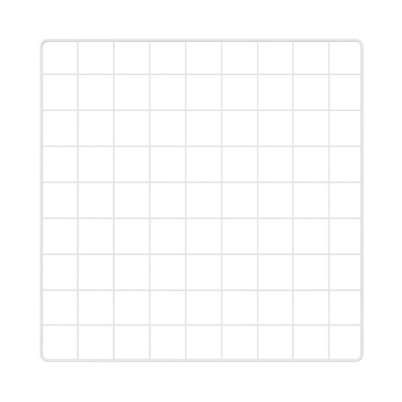 Memory Board Quadro De Fotos Branco - 45cm X 45cm + 6 Mini