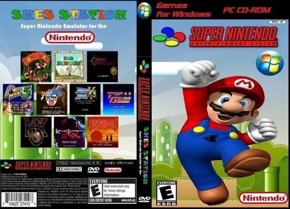 Emulador Super Nintendo Para Pc/notebook Com +de 2000 Jogos!