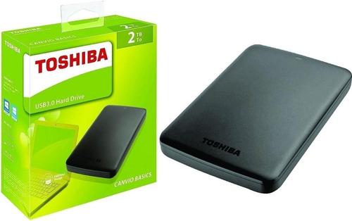 Disco Duro Externo 2tb Toshiba Canvio Basics Nuevo Sellado