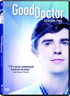 The Good Doctor Segunda Temporada 2 Dos Importada Dvd