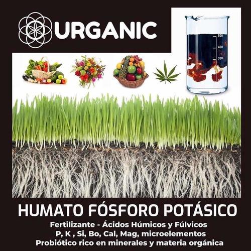 Fertilizante Fósforo Potasio Acidos Húmicos Fúlvicos Abono